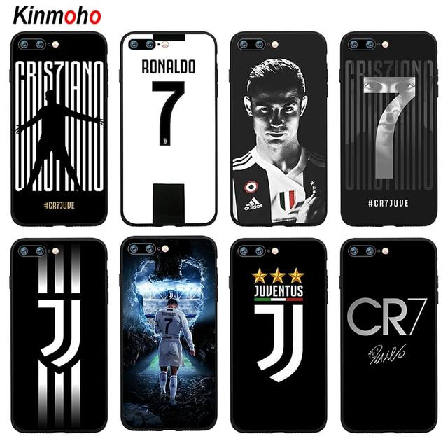 best sneakers 675d8 58d26 R$ 7.71 21% de desconto|Juventus futebol Cristiano Ronaldo CR7 Tampa Da  Caixa de Telefone Para o iphone 7 8 Plus 6 6 s 5S SE X XS MAX XR 10 7 Plus  ...