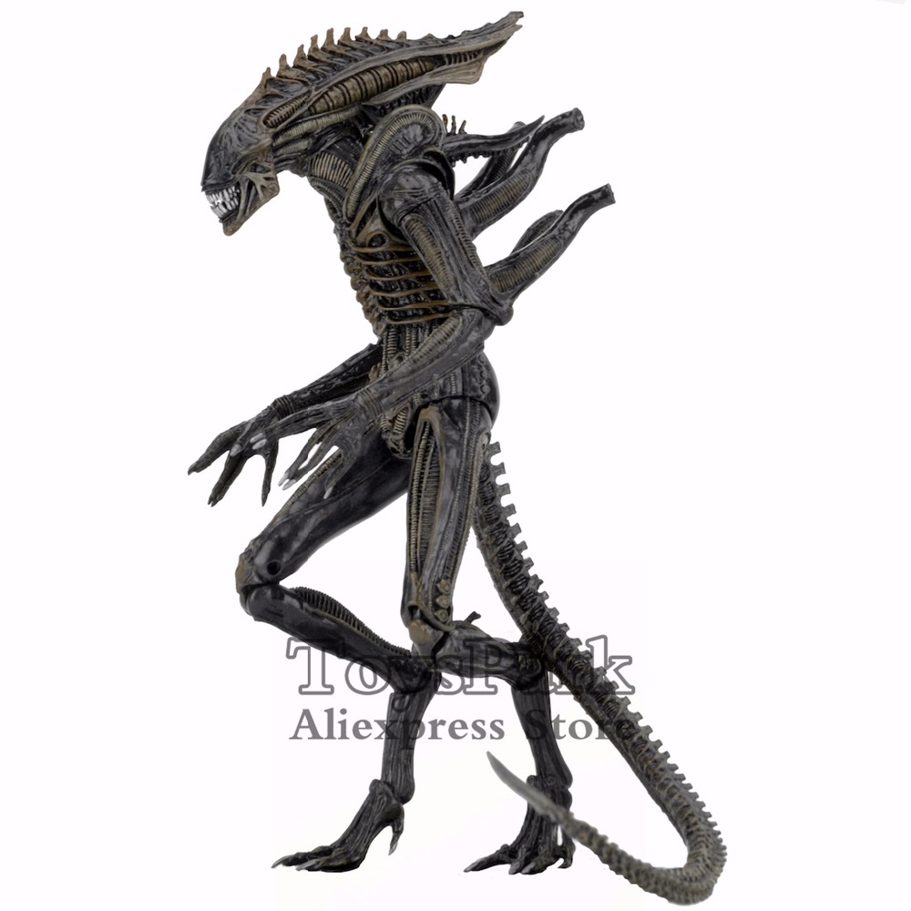 ToysPark Aliens 7 Defiance Xenomorph Warrior Action Figure From Dark Horse Defiance Comic 2017 NECA Alien Series 11 Collectible