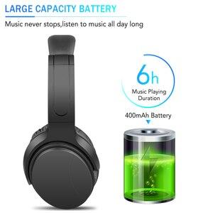 Image 2 - Kebidu Tragbare Drahtlose Kopfhörer Bluetooth Stereo Faltbare Headset Audio Mp3 Einstellbar Musik Kopfhörer mit Mic