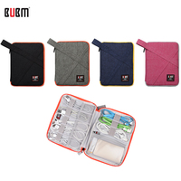 BUBM один слой цифровой хранения получать мешок Портативный Путешествия Организатор дело XS Sml XL розовый синий серый черный