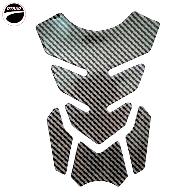 5 Styles Motorcycle Universal 3D Carbon Fiber Gel Gas Fuel Tank Pad Protector Sticker motocross BIKE RACING street in Fuel Filter from Automobiles Motorcycles