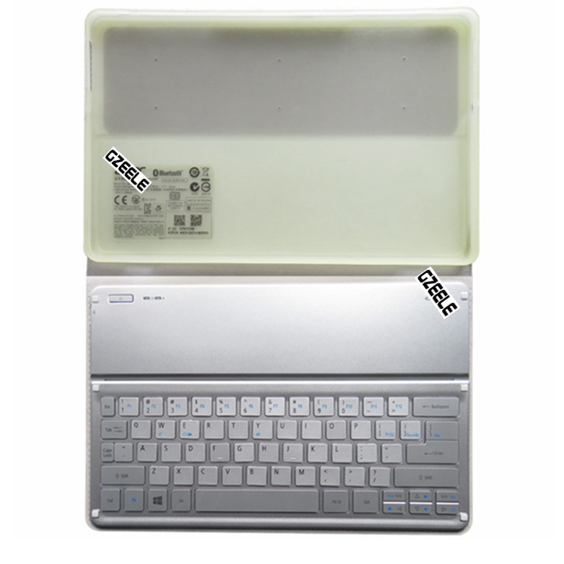 NEW Wi-Fi bluetooth keyboard for Acer P3-131 P3-171 KT-1252 W700  W3-810 W701 keyboard Silver US layout laptop keyboard for acer silver without frame bulgaria bu v 121646ck2 bg aezqs100110
