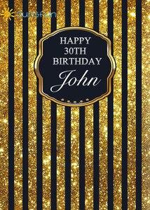 Image 5 - Sunsfun szczęśliwej rocznicy żółte tło dzieci fotografia balon urodziny dziecka tła Studio personalizacja
