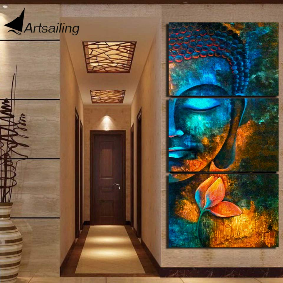 Best Top 10 Canvas Buddha Wall Art Ideas And Get Free Shipping Kef91539