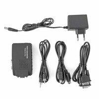 Портативных ПК композитный AV/S-Video VGA TV конвертер Monitor Adapter распределительная коробка ЖК-дисплей Out адаптер конвертер переключатель коробка ч...