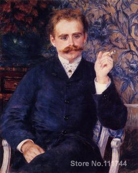 french impressionists Albert Cahen d Anvers by Pierre Auguste Renoir oil painting reproduction High quality Hand painted