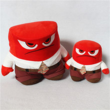1 piece 13cm Inside Out Anger plush toys for birthday gift doll