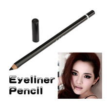 Waterproof Black Color Eyebrow Eyeliner Pen Cosmetics Pencil Easy To Use Eyes Makeup