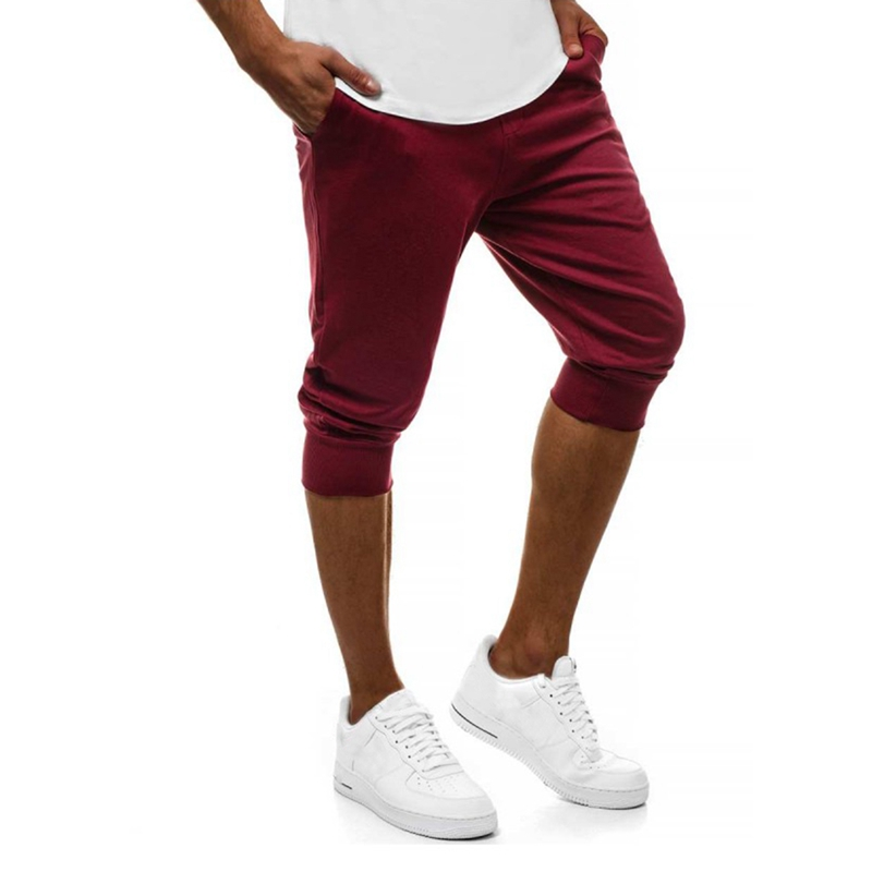 2019 Fashion Torridity   Shorts   Men Casual Fitness Jogger   Shorts   Homme Brand Comfortable Pants Male Knee Length Boardshorts