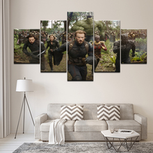 The Avengers Movie Canvas Painting 5 Pieces Wall Art Modular Wallpapers Poster Print for living room Home Decor