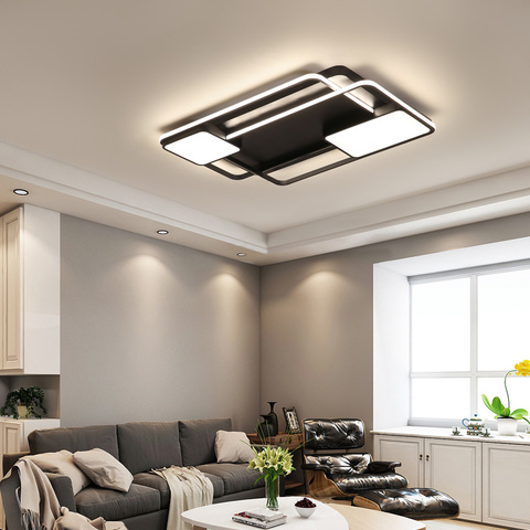 teto lampada lustre plafond moderne