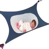 Portable Baby Toddler Safe Photography Props Crib Hammock Folding Newborn Infant Bed Elastic Detachable Baby Cot