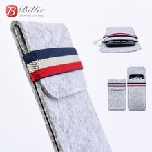 billie For iPhone X Case,For Apple iphone 5.8Ultra-thin Handmade Wool Felt phone Sleeve Cover x Phone Accessories