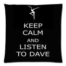 """Dave Matthews Band DIY Throw Pillow Case Funda de Cojín Sofá Decoración Del Hogar Del Coche 18 """"* 18"""" Two Side envío Gratis"""
