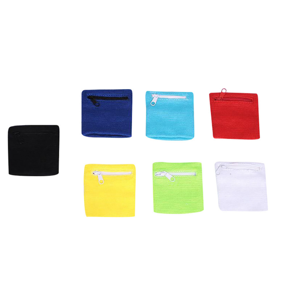 summertime Unisex wrist wallet bag with zipper running trip gym bike driving basketball wrist guard outdoor safety exercise 40M2 (4)