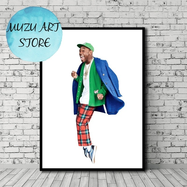 Tyler The Creator Poster Music Art Canvas Print Home Wall Decor No Frame