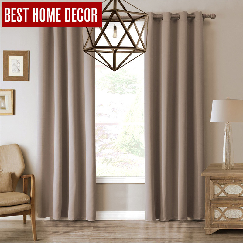 Modern Blackout Curtains For Window Treatment Blinds