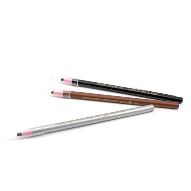 Soft Cosmetic Makeup Safe on Skin Eyebrow Pencil with Tearing Thread 3