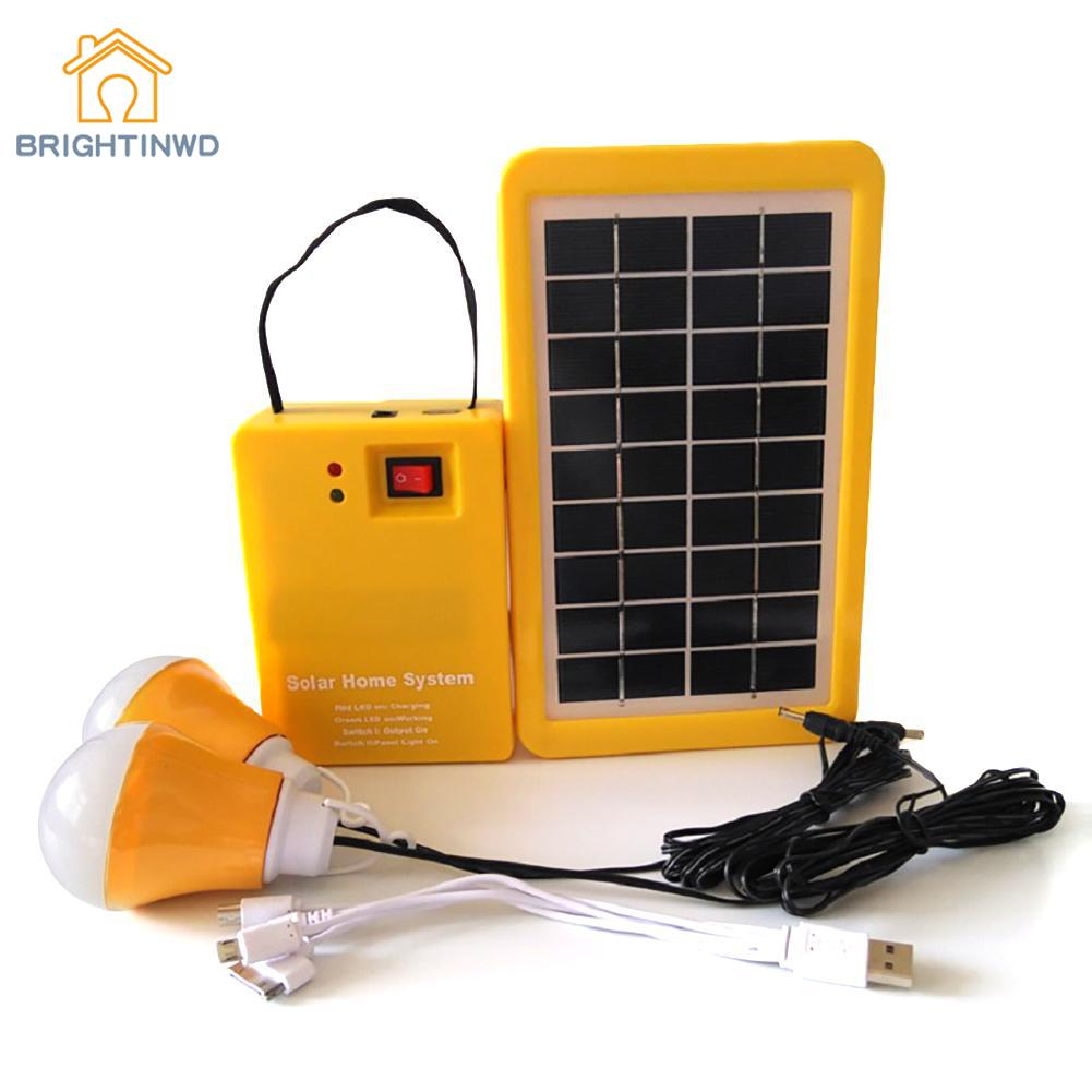 Portable Home Outdoor Small DC Solar Panels Charging Generator Power Generation System 4.5Ah / 6V Lead-acid Batteries Energy LED iwhd loft style simple iron led pendant light fixtures creative modern hanging lamp dining room droplight indoor lighting