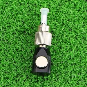Image 2 - KELUSHI nouveau chaud 1 pièces FC adaptateur FC carré fibre optique coupleur tour rond carré bride FC circulaire fibre nue adaptateur