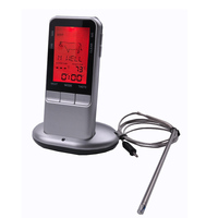 Free Shipping Meat Food Thermometer Electronic Digital BBQ Food Thermometer With Probe Kitchen Food Thermometer