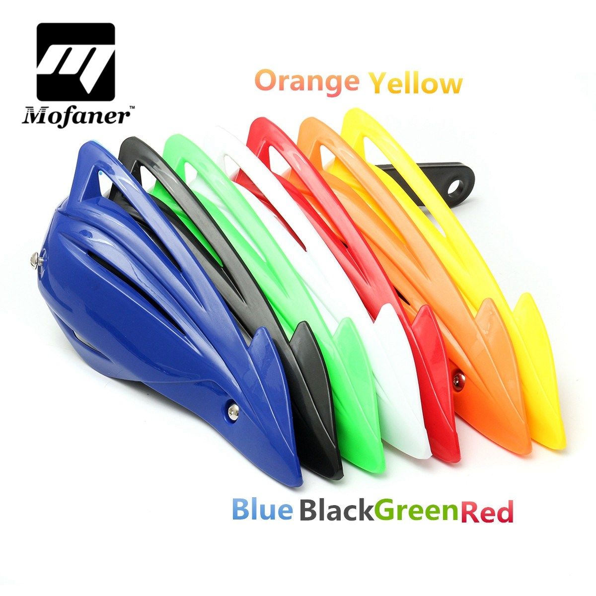 Motorcycle Handguards Hand Guards Brush Bar Fit Motocross ATV Dirt Bike atv motorcycle wind shield handle hand guards motocross transparent handguards for honda cbf600 sa cbf1000 a cb1100 gio nc750