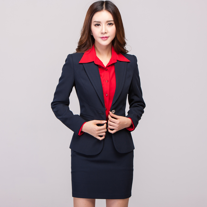 2014 new women`s work wear formal womens business suits