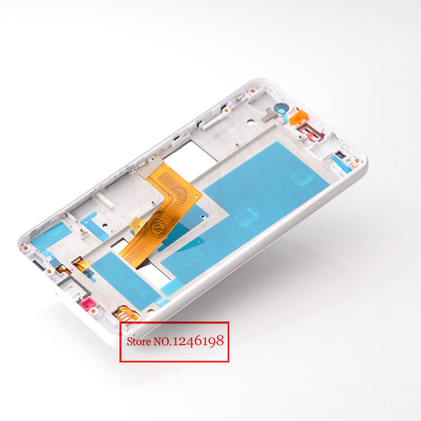 TOP Quality Full LCD Touch Screen Digitizer Assembly with frame For Huawei Honor 6 H60-L02 H60-L12 Replacement Repair Parts