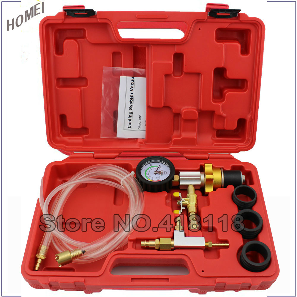 ФОТО Professional Vacuum Type Cooling System Refill Kit Purge Kit Water storage Tank Replacement Set