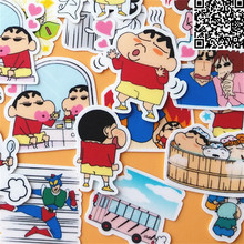 40 Pcs cartoon Cute little boy Sticker For Luggage Skateboard Phone Laptop Moto Bicycle Wall Guitar