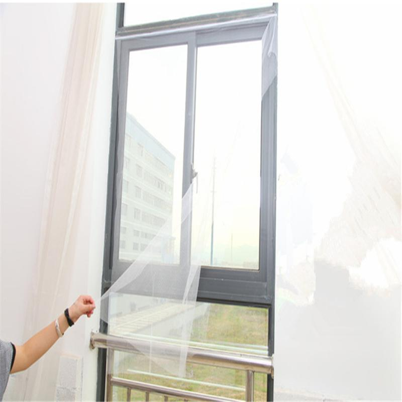 DIY Insect Fly Bug Mosquito Door Window Net Mesh Screen Curtain Protector Flyscreen(China) & Compare Prices on Mosquito Door Net- Online Shopping/Buy Low Price ... Pezcame.Com