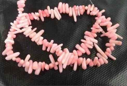 Бесплатная доставка, натуральный розовый коралловый чип, свободные шарики 15 дюймов