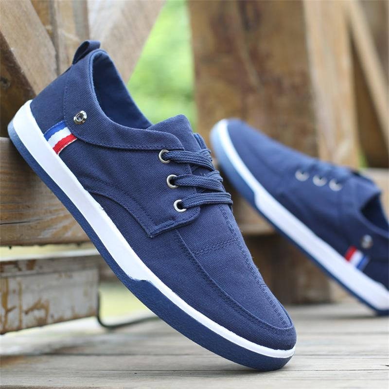 Spring Autumn Men Shoes Moccasins Lace Up Leisure Soft Vulcanize Shoes Male Footwear Flat Summer Men Casual Shoes summer cycling dancing leisure flat shoes for men