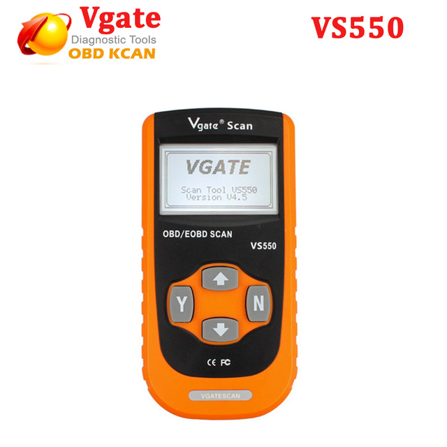 2016 Vgate VS550 OBD Диагностический Инструмент Автомобильной CAN OBD II OBD2 OBDII Диагностика Code Reader Сканер Инструмент ПРОТИВ 550 Диагностический инструмент