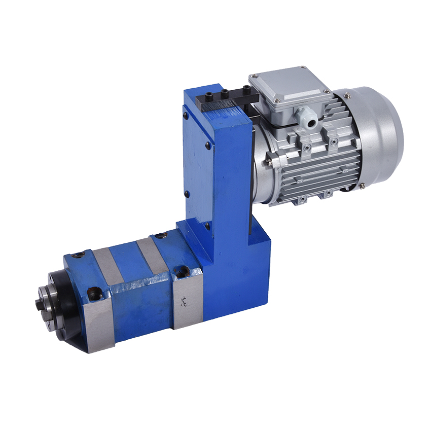New Boring and milling spindle head combination 02 high speed with 0.75 motor wire cutting bracket 380V 750W MT3 / BT30 / ER25