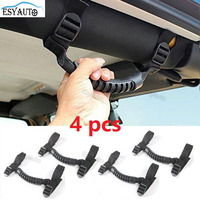 Car Sticker Roll Bar Grab Handles Grip Handle For Jeep Wrangler YJ TJ JK JKU Sports