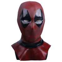 Deadpool 2 Cosplay Mask Wade Wilson Mask Halloween Cosplay Props Latex Mask Submarine Deuce