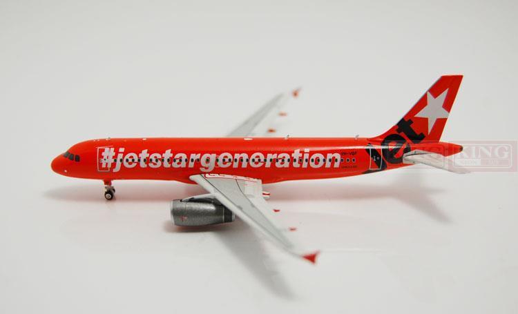 Phoenix A320 VH-VGF 10992 Jetstar ten anniversary 1:400 commercial jetliners plane model hobby