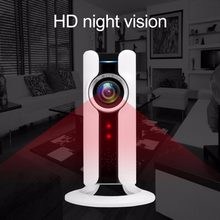 WIFI IP Panoramic Camera VR 180 Degree 720P HD Security Camera Remote Control Surveillance Camera For Home Office Night Vision(China)
