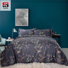 sookie classic 3 pcs floral bedding sets queenking size