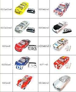 Image 3 - Yukala 1/10 rcカーボディシェル 1:10 r/cレーシングドリフト車 190 ミリメートルhenglong 2 ピース/ロット