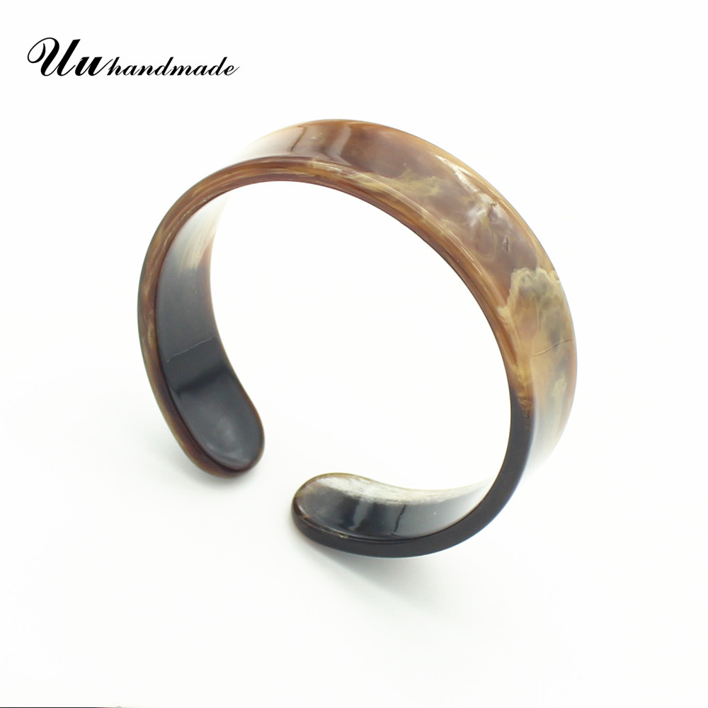 Wide Open Cuff Bracelet Acrylic Bracelets Bangles for Women wholesale MOQ120 custom pieces Delivery time is
