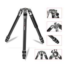 Skilled Aluminum Heavy Responsibility Tripod w/ Bowl Degree for Video Digital camera and Telescope Steady in The Wind  Watching Stars 4007