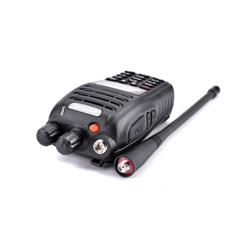 2 pièces Baofeng UV-B5 talkie-walkie 199 canaux Radio bidirectionnelle UHF VHF longue portée portable FM HF émetteur-récepteur Radio jambon Comunicador - 2