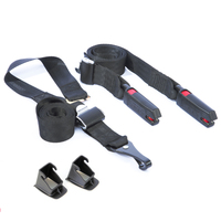 ISOFIX LATCH Belt Connector Interface Connection For Baby Car Safety Seat Child Seats