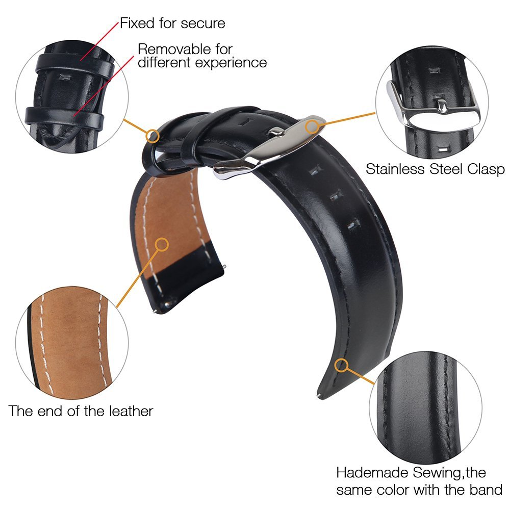 TOROTOP 17 NEW Wristband FOR SAMSUNG GEAR S3 CLASSIC WATCH BAND Smart Accessory Leather Strap Gear S3 Classic frontier BANDS 5