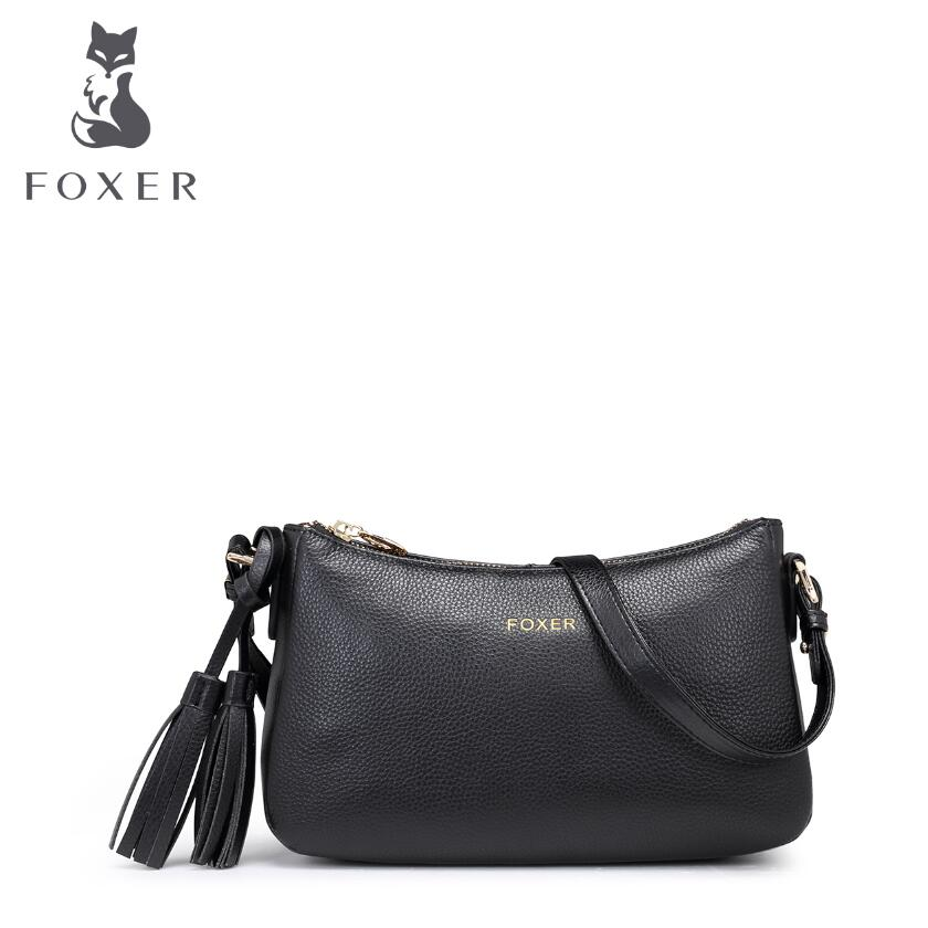 free delivery Cow leather handbag   New Shoulder Messenger Bag Fashion small square package Leisure fringed bag women's handbags