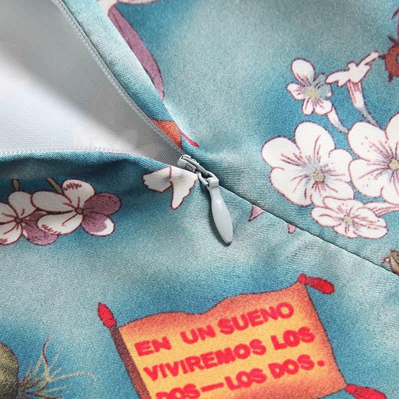80752 Cheongsam Impresión Verano Corta 2018 Mandarín Mixed Manga Nuevo Alta La Oycp Vendimia Delgado Collar De Calidad Vestido qvwanxq8d