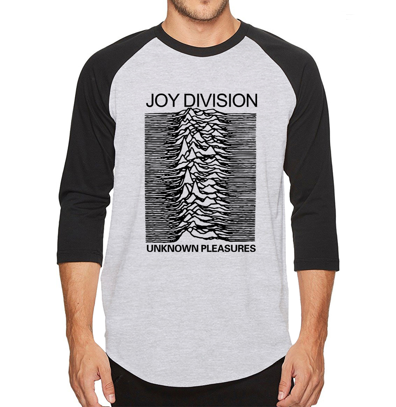 Fashion Rock Mens 2019 New   T     Shirts   Joy Division Funny Tshirts 100% Cotton High Quality Three Quarter Sleeve   T  -  Shirt   tops