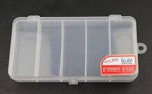 iLure Brand 17cm*9.2cm*2.7cm New Transparent Plastic Fishing Lure Bait Box Storage Organizer Container Case